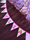 bunting - personalised and unpersonalised