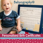 Babyography� Birth Certificates and Keepsakes