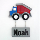 artwork - name plaques to hang on doors personalised for kids