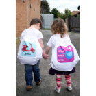 Library Bags and Kinder Bags - Personalised