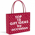 <font color=#990033>gift ideas <font size=-3 face=Times>by occasion</font></font>