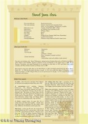 Babyography� Birth Certificate Design 1 (29.7cms x 42cms) Yellow Unframed/Laminated/Framed/ Canvas or MDF Block Mounted
