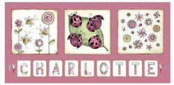 Canvas Name - Bugs and Butterflies Avail. in 20 different colours