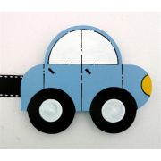 Artwork Hanger Set to display and organise your childs pictures - Car