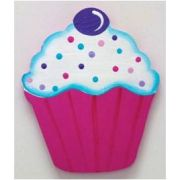 Artwork Hanger Set to display and organise your childs pictures - Cupcake - Hot Pink