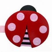 Artwork Hanger Set to display and organise your childs pictures - Ladybird red and pink