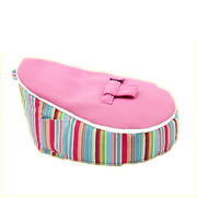 Bean Bag for Newborns / Baby - Stripey Pink