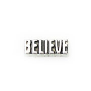 Messages Charm for Floating Memory Locket - Believe