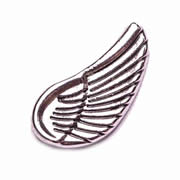 Faith Charm for Floating Memory Locket - Angel Wing Large