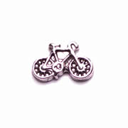 Sport Charm for Floating Memory Locket - Bicycle