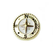 Family Charm for Floating Memory Locket - Compass