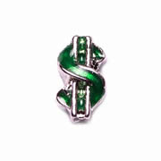 Fortune/Luck Charm for Floating Memory Locket - Dollar Sign