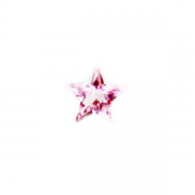 Children Charm for Floating Memory Locket - Pink Crystal Star