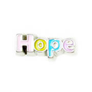 Faith Charm for Floating Memory Locket - Hope Multicoloured