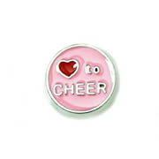 Sport Charm for Floating Memory Locket - Love to Cheer