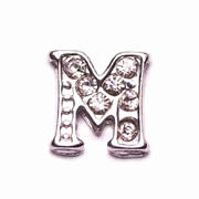 Letters Charm for Floating Memory Locket - M