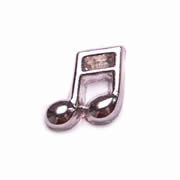 Music Charm for Floating Memory Locket - Music Note