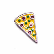 Food Charm for Floating Memory Locket - Pizza