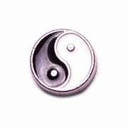 Faith Charm for Floating Memory Locket - Yin Yang