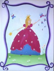 Artwork Childrens Room Decor - Fairy Dust 2 Kids Wall Art Canvas