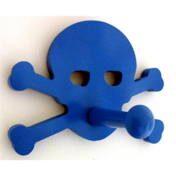 Funky Coat Hook stix and stones baby - coat hook for kids room or nursery - pirate
