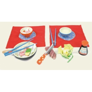 Honeybake Wooden Wok Set by Le Toy Van