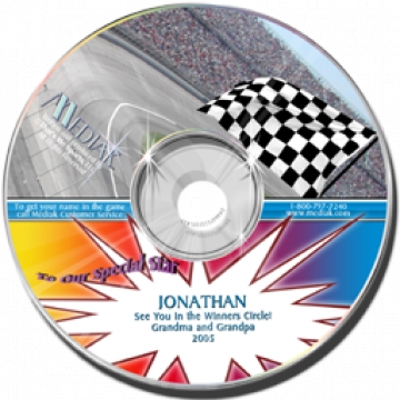 Personalised CD Nascar Racing