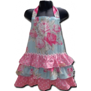 Apron with Ruffle Tiers<br>Ava Rose