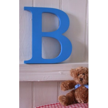 .Custom Made Thick Wooden CAPITAL Letters - Painted<BR>25mm thick, 30 cm tall<br>8 colours available<br>the largest in our range