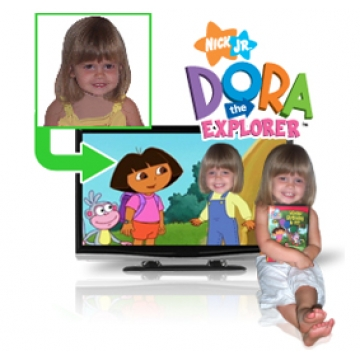 Whose Birthday Is It?  Personalised Dora the Explorer DVD