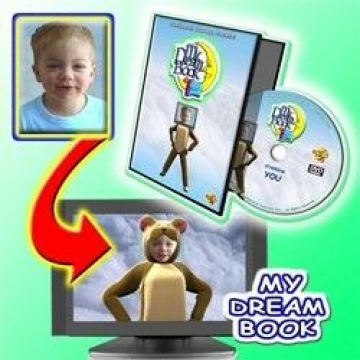 My Dream Book  Personalised DVD
