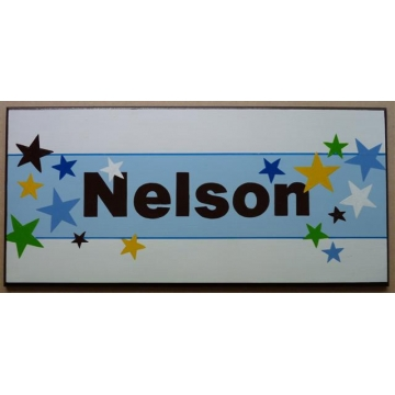 Name Plaque<br>'Super Stars'