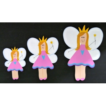 Wall Motif Set - Fairy<br>Painted