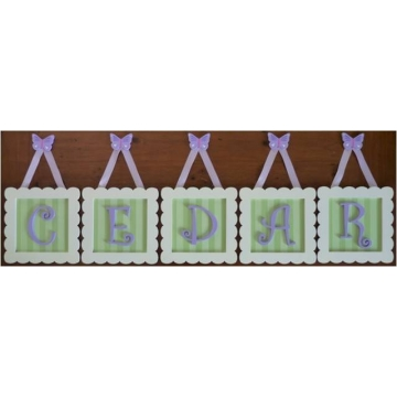 .Initial Frames for Full Name<br>20% off for names of 3 or more letters<br>sample gallery 2