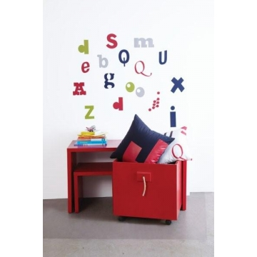Alphabet<br>Wall Stickers