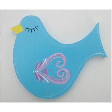 Clip-a-licious Hair Clip Holder<br>Bird Swirly Blue
