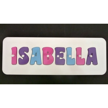 Stix And Stones Baby Personalised Kids Wooden Jigsaw