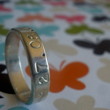 Ring Stamped Silver - Union Ring