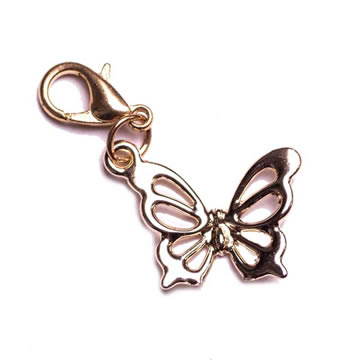 steel engravable butterfly pendant lockets stainless