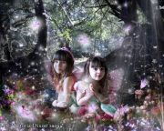 Kids and Baby Fantasy Photo Illustration 'Forest Glade'