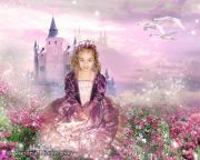 Kids and Baby Fantasy Photo Art Illustration 'Princess for a Day'