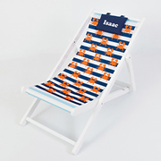 Kids Deck Chair Personalised - Crabby