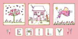 Canvas Name - Fairy Garden and Home Avail. in 20 different colours
