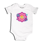 Flower Power - Bodysuit Personalised for Baby