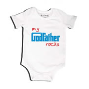 Godfather Rocks - Bodysuit Personalised for Baby