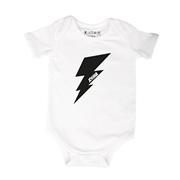 Lightening Bolt - Bodysuit Personalised for Baby