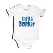 Little Brother - Bodysuit Personalised for Baby