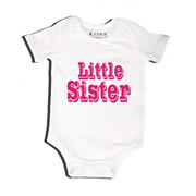 Little Sister - Bodysuit Personalised for Baby