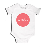 Melon Dot - Bodysuit Personalised for Baby