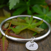 Handstamped Personalised Bracelet - Eternity Bangle